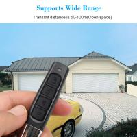 Quality 433MHZ Remote Control 4 Channe Garage Gate Door Opener Remote Control Duplicator Clone Cloning Code Car Key for sale