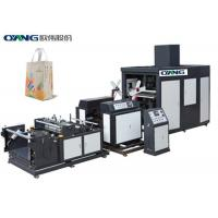 Quality New Condition Full Automatic Computerized Non Woven Bag Machine For 3D Bag for sale