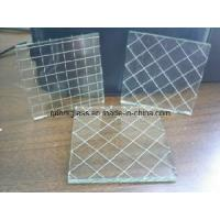 Quality Clear/Color Nashiji Wired Glass for sale