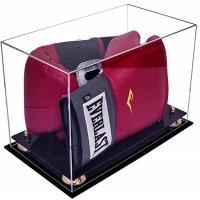 Buy cheap Deluxe Acrylic Led Light Box , Custom Size Boxing Glove Display Case from wholesalers