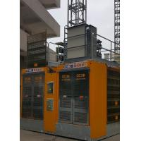 Quality SC200/200BD Building Material Hoist , Rack Pinion Elevator Lifting Speed 0–36 M/Min for sale