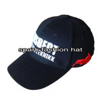 China Custom high quality flex fitted baseball cap for sale on sale