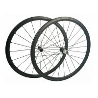 Anti High Temperature Carbon Road Cycling Wheels 9 / 10 / 11 Speed Compatible