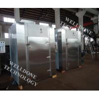 Quality Forced Convection Tray Drying Oven PLC / Touch Screen With Glass Bottle for sale
