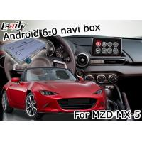 Quality Mazda MX-5 Android Navigation Box with Mazda origin knob control video interface for sale