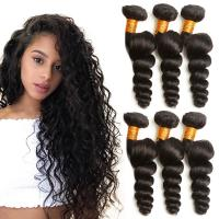 Quality 100 Grams Virgin Human Hair Extensions Natural Color 2 Years Service Life for sale