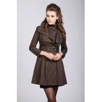 Quality Ladies Waterproof Trench Parka Jackets for sale