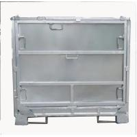 Quality 4 Layers Stacking Foldable IBC Container / Galvanized Intermediate Bulk Container for sale