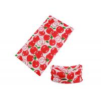 Quality Apple Logos 25*50 CM Kids Buff Headwear 100% Microfiber Polyester for sale