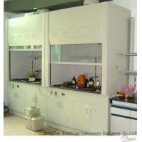 Quality 2350mm Height Steel Fume Hood , Science Lab Fume Hood With Two Cabinets for sale