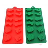 China Christmas Cool Ice Cube Trays Food Safe Material Non Harmful  Storage Container on sale