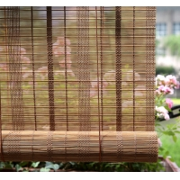 "Quality OEM Multilayer 20""Wx48""L Wooden Woven Bamboo Blinds Roman Shade for sale"