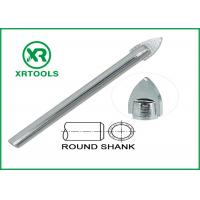 Quality Single Carbide Drill Bits Chrome Plated Round Shank With ISO 9000 Approval for sale