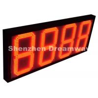 """Quality 8888 Outdoor LED Signs for Gas Station with Red 12"""" Size Meanwell Power Supply for sale"""