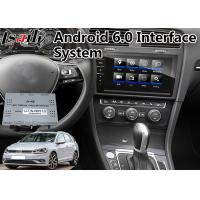 Quality Car Android 6.0 Interface GPS Navigation for 2017-2019 Volkswagen Golf Tdi Variant for sale
