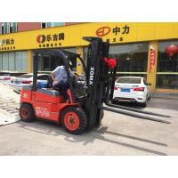 Diesel Powered Counterbalance Forklift Truck , Forklift 3.5 Ton With Comfortable Seat