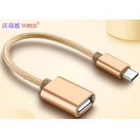 China USB To Type C Micro USB Data Transfer Cable , OTG Mobile Phone USB Cable on sale