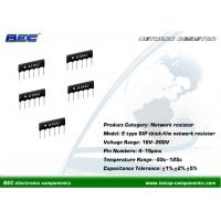 China Competitive Price Resistor Networks-E Type for Communication Products and Digital Circuits on sale