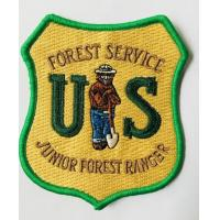 Quality Fashion quality factory made embroidered patch amy patch military label for sale