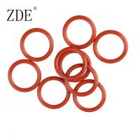 Buy cheap Soft Colorful 2.5mm Thickness Silicone Rubber Gasket And O Ring Low Temperature from wholesalers