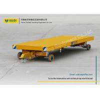China Workshop Galvanised Plant Trailer Easily Turning Convenient For Transporting on sale