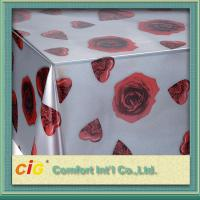 China Wholesale Disposable PVC Table Cloths / PP Non-woven Tablecloth for Wedding / Hotel on sale