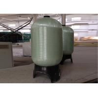 Quality Grey Industrial Water Filter FRP Pressure Tanks 1.0Mpa Dia. 30 To 48 for sale