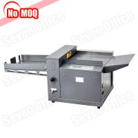 Quality NO MOQ metal construction digital electric file paper creasing machine china manufacturer for sale
