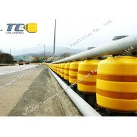 Quality Anti Crash Rolling Safety Road Barrier For Highway / Roadway Star Production for sale