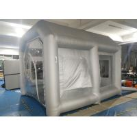 China Mobile Inflatable Spray Booth 4 M * 3.4 M * 3 M For Car Spray Painting on sale
