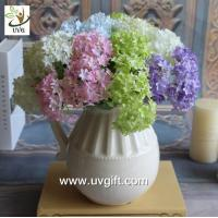 Quality UVG FHY63 making hydrangea flowers artificial for wedding decorating and partying for sale
