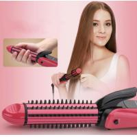 China Four Temperature Control 3 in 1 Hair Styler Hair Curlers Hair Crimper Hair Straightener Brush on sale
