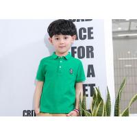 Quality Thin Shirt Half Sleeve Embroidery Children's Style Clothing Boys Polo Shirts for sale