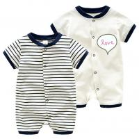 China Discount baby Rompers high quality and cheap price 100%cotton baby clothing on sale