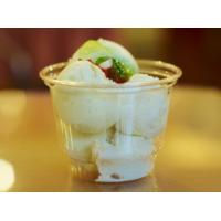 China Clear 12oz Plastic Disposable Ice Cream Cups With Diameter 9.8cm 360ml on sale