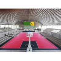 Quality Interlocking Rubber Floor Tiles For Basketball Court Project Case In Philippine for sale