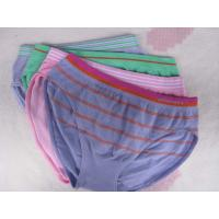 Buy cheap OEM Breathable 100 Polyester Stripe Organic Kids Underwear for Boys product