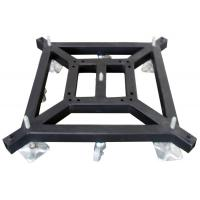 Removable Truss Tower System Lift Steel Base Plate / Mobile Truss Square Base Plate