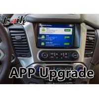 Buy Android 6.0 Multimedia Video Interface for Chevrolet Tahoe / Silverado MyLink System 2015-2018 Mirrorlink Waze at wholesale prices
