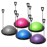 Quality Durable Gym Equipment Half Ball Fitness Strength Exercise Resistance Bands Pump for sale