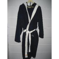 Quality Plain Dyed Terry Bathrobe, Cotton Bathrobe for sale