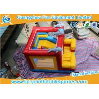 Buy cheap Customized Inflatable Bouncy Castle , Inflatable Jumping With Plato PVC Tarpanlin product