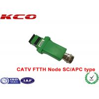 Buy cheap SC/APC to RF Analog signal 1550nm optic fiber CATV FTTH receiver optical node product
