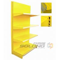 Quality Plain Back Gondola Wall Units For Pharmacy / Convenience Store Shelving for sale
