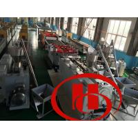 Quality fine surface , high intensity ,thicker ,solid wood and plastic composite door board machine , door board machine for sale