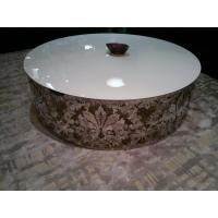 White Gloss Marble Modern Oval Coffee Tables Furniture for Coffee ...