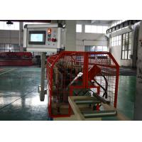 China Galvanized Metal Top Hat Roof Channel Roll Forming Machine With Bottom Embossing on sale