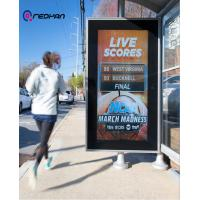 Quality Smart Station Booth Outdoor Digital Signage Sport Information Display 4G GPS and CCTV Embedded for sale