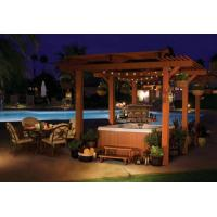 Quality outdoor hot spa tub furniture wicker loung sofa set for sale