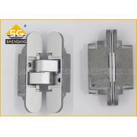 Quality Zinc Alloy Removable 3D Concealed Hidden Hinges For Kitchen Cabinets for sale